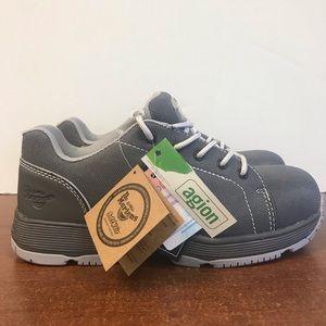 Dr Martens Industrial Steel Toe Gray Boots Size 8